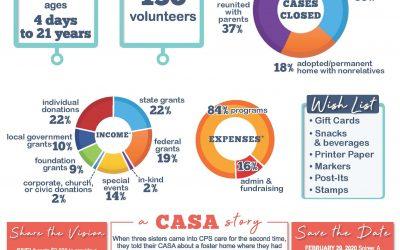 2018-2019 CASA Wilco Annual Report